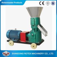 China Flat Die Pellet Making Machine for Animal Feed , Small Wood Pellet Mill on sale