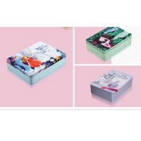 Mirror Makeup Personalised Packing Boxes Small Portable Square Cosmetic Tin Can Manufactures