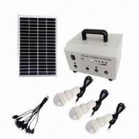 Portable Solar Home System with CFL Bulb and Cell Phone Charger, Ideal for Remote Area Manufactures