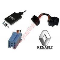 China Renault quadlock USB SD AUX MP3 Interface Adapter (YATOUR Car Digital CD Changer) on sale