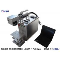 Adjustable Table Portable Fiber Laser Marking Machine Stable Working Performance Manufactures