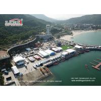 China Different Shape Sport Event Tents PVC Sidewall And ABS Wall For Yaching Race on sale
