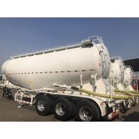 3 Axle Used Cargo Trailers V Tanker Shape With 40m3 Tanker Capacity Manufactures