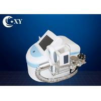 Portable Fat Removal Device / Cryolipolysis Fat Freezing Machine White Color Manufactures