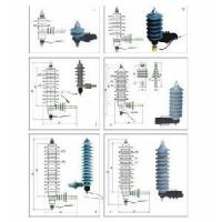 China Polymer Lightning Arrester 3-36kv Series on sale