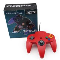 Red Classic Wired Nintendo 64 Computer Controller , Nintendo 64 USB Controller Manufactures