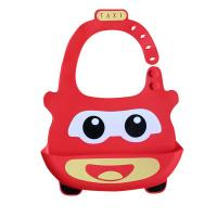 China Cartoon Shape Soft Baby Bibs Set For Restaurant 26cm x 26cm x 9cm FDA Approved on sale