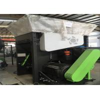 WPC Profile /  Board Plastic Recycling Extruder Machine 8 - 10mm Scraps Manufactures