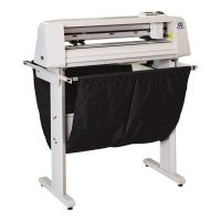 Quality High Speed Servo Cutting Plotter 25 Watt Low Power Consumption for sale