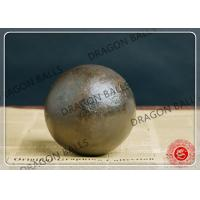 40mm 60Mn Hot Rolling Steel Balls , Round Steel Grinding Balls For Mining Manufactures