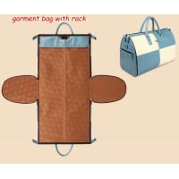 China garments bag, folding apparel bag pack, clothing bag cover duffel bag, travel bag, duffle on sale