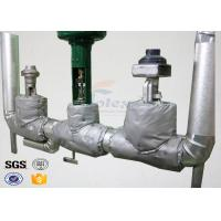 550 Degree 37oz Thermal Insulation Covers , Removable Insulation Blankets For Building Manufactures