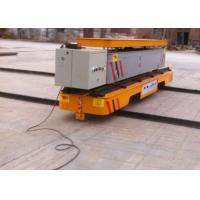 China  Gearmotor Driven Hydraulic Lifting Transfer Cart With Dumping Platform on sale