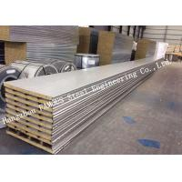 Quality 960mm Width Reliable Structure Mineral Wool Sandwich Panels for Cold Room Storage Roof Panel for sale