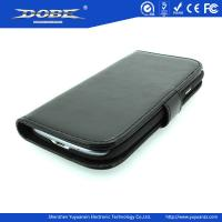 Wallet Colorful Cowhide Pattern PU protective Case with buckle and folded stand for Samsung Galaxy SIII/I9300 Series Manufactures