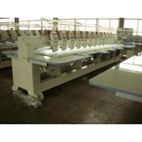 Compact Cap / Flat Embroidery Machine With Automatic Color Changing