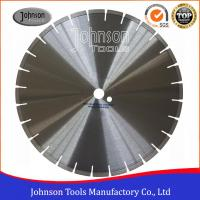 China Medium Diamond Concrete Saw Blades / Precut Diamond Blade 400mm on sale