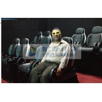 Thrilling XD Theatre 9D Motion Simulators Experience With Yellow Glasses Manufactures
