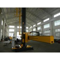 WM5070 Automatic Welding Machine Manipulator With Moving Self Align Welding Rollers Manufactures