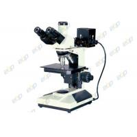 China Good Operability Metallurgical Microscope , Upright Microscope With Trinocular Head on sale