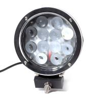 Super Bright 7 Inch 6000k White 12v / 24v Led Car Lights 60w Led Offroad Work Light Manufactures