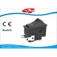 3 Pin On On Off 3 Position Rocker Switch For Hair Dryer , Long Mechanical Life Manufactures