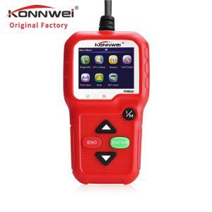 China KONNWEI KW680 obd2 scanner code reader obd diagnostic interface 12v obd obd2 autel al319 on sale