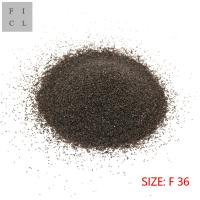 Clean Material Brown Aluminum Oxide F36 Round Shape Corrosion Resistance Manufactures