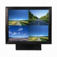 China 19-inch CCTV LCD Monitor with Rugged Metal Frame and Built-in VGA/BNC Input on sale