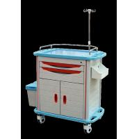 Ambulance Stainless Steel Medical Trolley , Stainless Steel Trolley With Drawers Manufactures