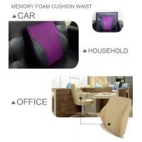 China Office Chair Large Pillow Auto Car Cushions For Lower Back Pain Full Posture Corrector on sale