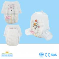 China Non Woven Fabric Soft Baby Pull Up Pants With 3D Leak Prevention Channel on sale