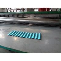 China 0.15mm-0.3mm Thin Type Galvanized Roofing Sheet Roll Forming Machine on sale