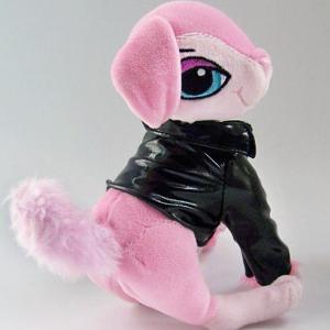 plush fox,girl fox,princess fox ,pink wear clothes fox,big eye vivid stuff fox Manufactures
