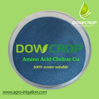 DOWCROP HOT SALE HIGH QUALITY COPPER AMINO ACID CHELATED POWDER MILK YELLOW POWDER 100% WATER SOLUBLE FERTILIZER ORGANIC Manufactures
