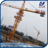 6 Tons Building Tower Crane Construction Safety Equipment For Sale Manufactures