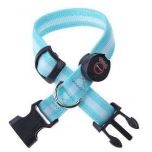 Quality Green LED Bling Bling Dog Collar for sale