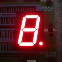 0.8 Inch Common Anode 7 Segment Display Super Bright Red 625 Nm Wavelengt Manufactures