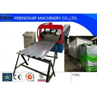 18.5kw Car Side Board Shelf Panel Roll Forming Machinery 1250mm Coil Width Manufactures