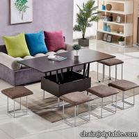 China big lots metal folding table stainless steel folding table dining table and chairs metal table on sale