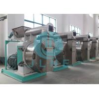 Animal Poultry Feed Pellet Mill / Ring Die Pelletizer 5 Ton Per Hour 380V Manufactures