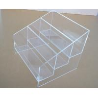 China 3 Tiers clear acrylic display counter top stands on sale
