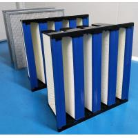 China ABS Plastic Frame High Capacity HEPA Air Filter 99.99 Efficiency on sale