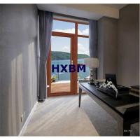 China Wood Grain Aluminium Casement Windows Customized Color For Residential Projects on sale