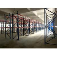 Economical Heavy Duty Pallet Racks High Density Storage Warehouse Customized Color Manufactures