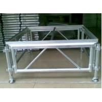 Adjustable Height Aluminum Stage Truss For Indoor / Outdoor Movable Stage Platform Manufactures