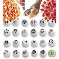 Cake Decorating Tips Set Polished Smooth No Seams - Icing Tips Frosting Tips Pastry Tips Manufactures