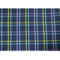 China Plain Style Yarn Dyed Fabric Multi Clolor Grid Pattern For Garment on sale