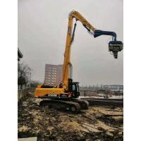Eco Friendly Hydraulic Static Pile Driver 670kg Arm Weight 35-40T Excavator Manufactures