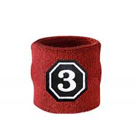 Simple Patterns Personalized Wrist Sweatbands For Football / Basketball Manufactures